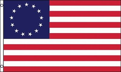 Betsy Ross US Flag 3x5 13 Stars Stripes American Revolutionary War United States