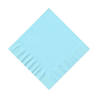 Emerald//Kelly Green 50 Plain Solid Colors Beverage Cocktail Napkins Paper