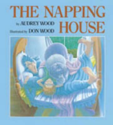 The Napping House by Audrey Wood (English) Board Books Book Free Shipping!