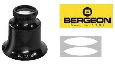 loupe vision X 15 eyeglass  watchmakers bergeon 1458 A swiss made