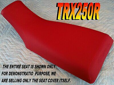 TRX250R 1986-89 Replacement seat cover Honda Fourtrax TRX250 Red L@@K 313A