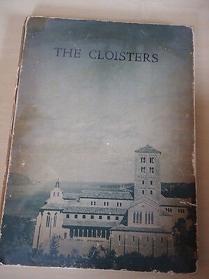 THE CLOISTERS rare vintage BOOK Metropolitian Museum of Art 1941 LIMITED EDITION