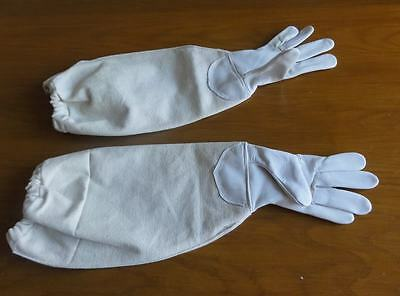 Beekeeping Bee Gloves for Children Kids 10 to 14 years Leather YELLOW not white
