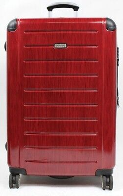 "RICARDO ROXBURY BLACK CHERRY LUGGAGE  25"" L Expandable Spinner Hardshell Upright"