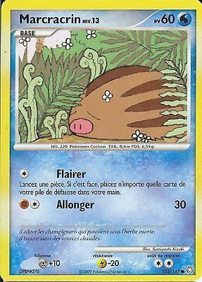 "Carte POKEMON "" MARCRACRIN "" Niv 13 Eveil des Legendes  60PV 123/146 VF"
