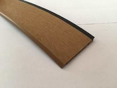 Synthetic Decking PVC Rounded Edge Profile10 Metre Roll Boat Chandlery/Boat