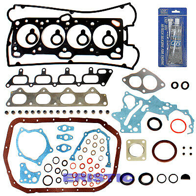 Fits 95-99 Mitsubishi TURBO Eclipse Eagle Talon 2.0 Engine FULL GASKET SET 4G63T