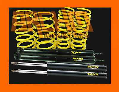 VL COMMODORE 6CYL SEDAN 70mm ULTRA LOW KING SPRINGS & MONROE GT STRUTS & SHOCKS