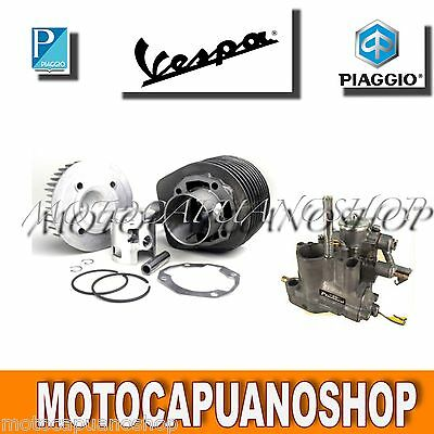 KIT MODIFICA MOTORE POLINI CILINDRO 177cc +CARBURATORE SI 22 ER MIX VESPA PX 125