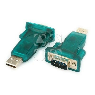 Adattatore Convertitore Usb 2.0 A Seriale Rs232 Interfaccia Seriale Db25 Db9