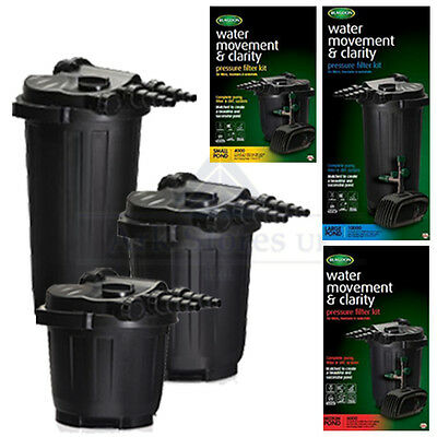 Blagdon koi fish pond pressure filter system uv uvc for Koi fish filter system