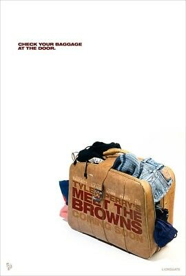 MEET THE BROWNS MOVIE POSTER 2 Sided ORIGINAL Advance BAG 27x40 TYLER PERRY