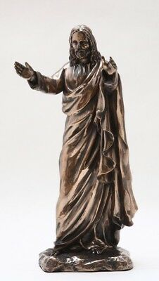 Open Arms Benediction Before Ascension of Jesus Christ Blessing Statue Figurine