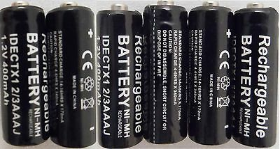 6 x iDECT X1 X1i 2/3AAA COMPATIBLE RECHARGEABLE BATTERIES