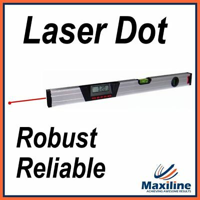 600MM Aluminum Digital Spirit Level with Laser Dot Inclinometer Measuring Tools
