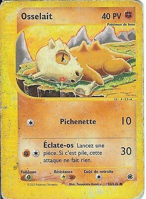 "Carte Pokemon "" OSSELAIT "" Expedition PV 40 103/165 VF"