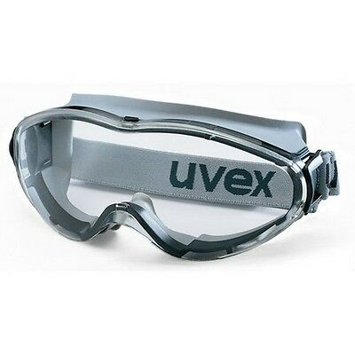 UVEX Ultrasonic 9302-285 Safety Goggles - Anti Mist & Scratch - Clear / Grey