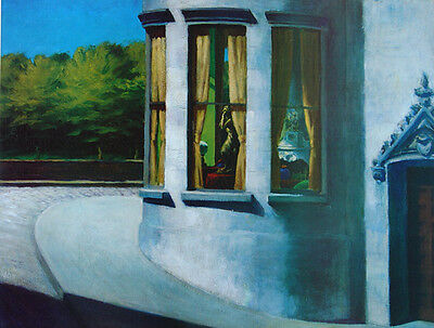 Edward Hopper•August in the City•American Realism Art Poster Print 23x29