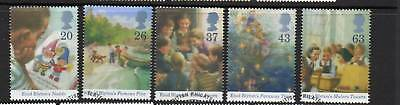 GB 1997 Enid Blyton Centenary fine used set stamps