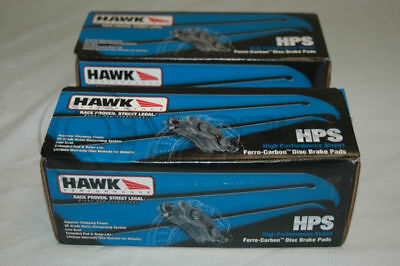 Hawk HPS Brake Pads Front And Rear For MAZDA RX-7