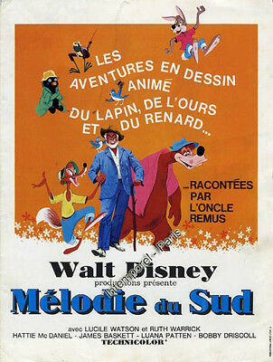 Dossier de presse SONG OF THE SOUTH - DISNEY - DESSIN ANIME