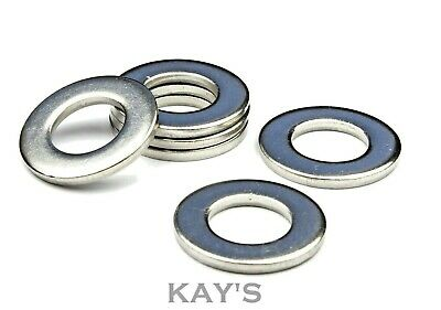 Form A Flat Washers To Fit Metric Bolts & Screws A2 Stainless Steel Kay's
