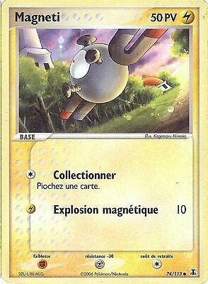 "Carte Pokemon "" MAGNETI "" Niveau Base ESPECES DELTA PV 50 74/113  VF"