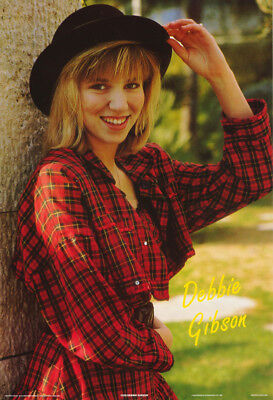 Poster : Music : Debbie Gibson Posed - 1988    - Free Shipping !  #1229    Lw2 U