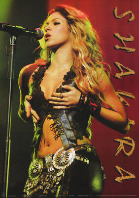 Poster : Music : Shakira   In Concert       Free Shipping !   #aa859     Rc32 H