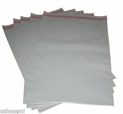 "GREY POSTAL POST MAIL MAILING BAGS 100x  14"" x 19 """