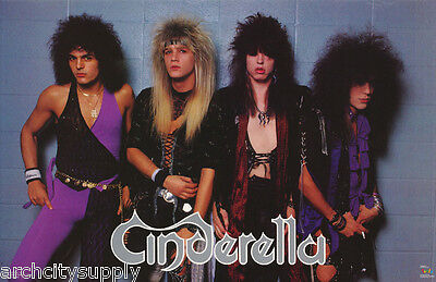 Poster : Music  : Cinderella  - All 4 Posed  - Free Shipping !   #3106    Rp74 E