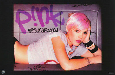 Poster : Music : Pink - Missundaztood    -  Free Shipping !   #6227  Rw15 J