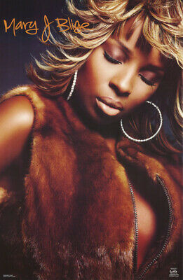 Poster : Music : Mary J. Blige       Free Shipping !!     #6225 Rp64 P