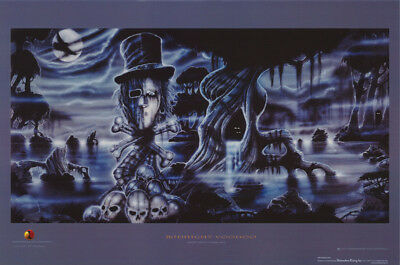 Poster: Music:  Quiet Riot - Midnight Voodoo -  Free Shipping !  #3465 Rc20 R