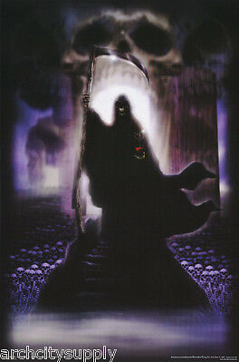 Poster: Fantasy : Soul Gather - Grim Reaper   Free Shipping ! #3532     Rp90 D