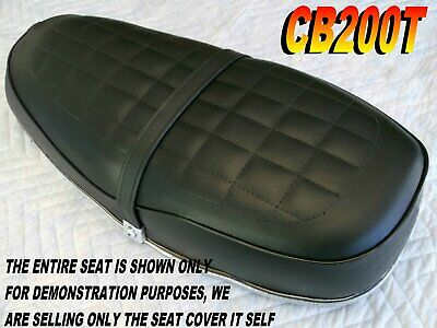 CB200 1974-76 Replacement seat cover for Honda CB200T CB200K0 CB200T0 L@@K 117