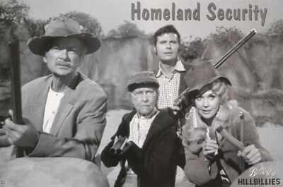 Poster:comical: Beverly Hillbillies - Homeland Security-Free Ship #3760 Rc47 S