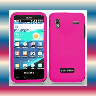 Pink Samsung Galaxy S Captivate Glide SGH-i927 Phone Cover Hard Shell Case Skin