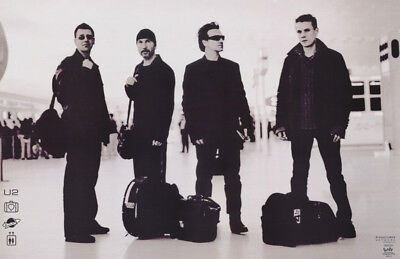 Poster : Music : U 2 - At Airport -    Free Shipping  !  #9047  Rc48 K