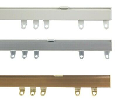 Fineline Aluminium Curtain Track or Accessories for Straight or Bay Windows
