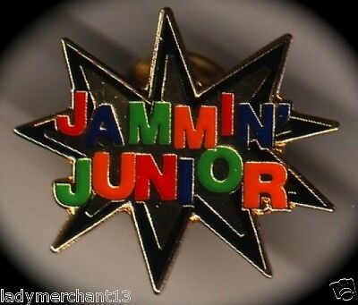 """JAMMIN JUNIOR'"" STAR Enamel Lapel Pins, Lot of 25! ALL NEW!"