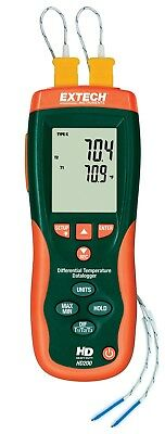 Extech USB Differential Thermometer Datalogger + IR HD200