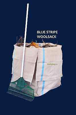 Blue Stripe - Garden Bags/Woolpacks - Recycling / Storage / Waste Materials