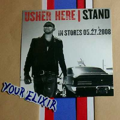 Usher Stand Photo  Case Amp Board Sticker