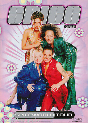 Poster : Music : Spice Girls - World Tour   Free Shipping ! #  #sr301     Rw18 F