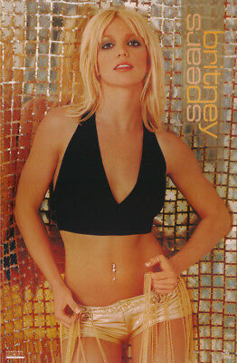 Poster : Music : Young Britney Spears - Golden Girl - Free Shipping #9071 Rbw1 D