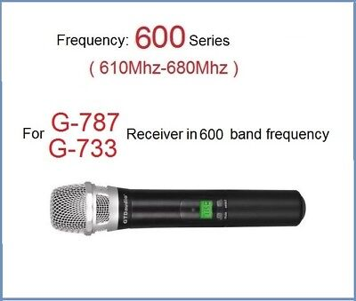 GTD Audio Wireless Hand held Transmitter Microphone For G-787, G-733