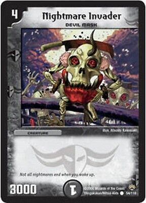 Duel Master TGC Nightmare Invader DM10 Shockwaves of the Shattered Rainbow