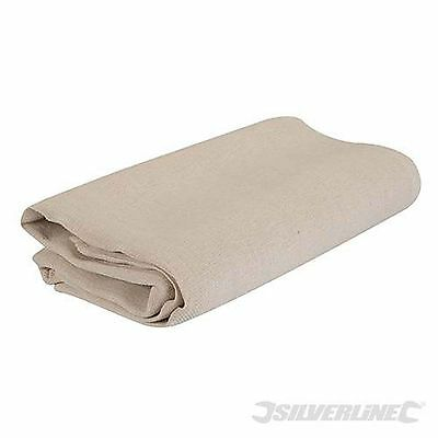 Decorating Dust Sheet Cover Protector Washable Reusable 3.5 X 2.6 M (719799)