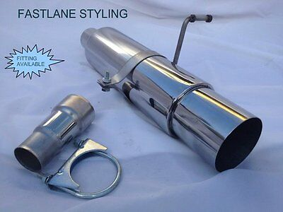 Ford Fiesta Universal Freeflow Stainless Steel Performance Back Box Exhaust